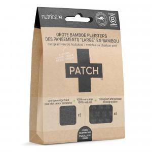 Patch Grote Bamboe Pleisters met Charcoal - beten en splinters (10-mix pack)