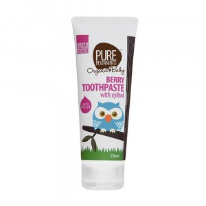 Pure Beginnings Tandpasta Berry met xylitol