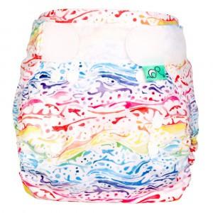 Totsbots Bamboozle Wrap Splash maat 1 (2,7-8 kg)