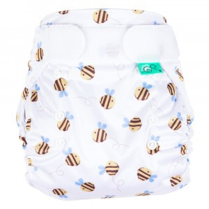 Totsbots Bamboozle Wrap Buzzy Bee maat 1 (2,7-8 kg)