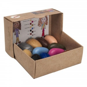 Crayon Rocks Sojawaskrijtjes People Pebbles (12 stuks)