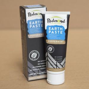 Tweede Kans product - Earthpaste Tandpasta Peppermint met Charcoal