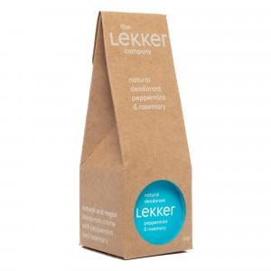 The Lekker Company Deodorant Pepermunt & Rozemarijn