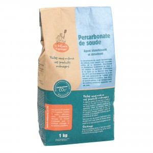 La droguerie écologique Natriumpercarbonaat - bleekmiddel en vlekkenverwijderaar (1kg)