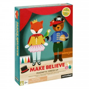 Petit Collage Magnetisch Aankleedspel 'Make believe'