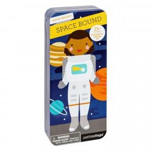 Petit Collage Magnetisch Aankleedspel 'In de ruimte'