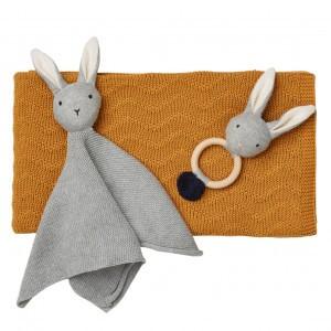 Liewood Babypakket Knit Mosterd