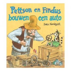 Davidsfonds Prentenboek Pettson en Findus bouwen een auto