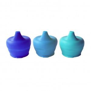 SipSnap Peuter Blue Quench set van 3 stuks (Donkerblauw, Blauw, Aqua)