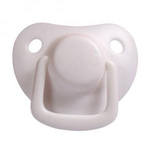 Filibabba Fopspeen Fysiologisch Silicone 0-6 maanden Marshmallow White (2 pack)