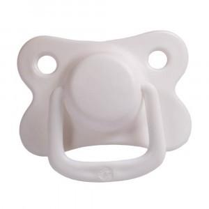 Filibabba Fopspeen Fysiologisch Silicone +6 maanden Marshmallow White (2 pack)