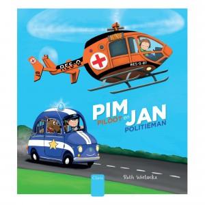 Clavis Leesboekje Pim Piloot en Jan Politieman