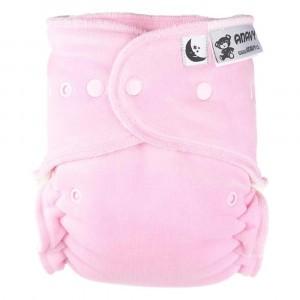 Anavy Nachtluier XL met snaps Pink (6-18 kg)