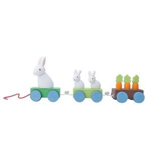 Le Toy Van Petilou Trekspeeltje 'Bunny Train'