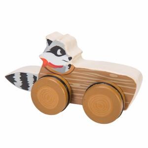 Le Toy Van Petilou Woodland Race 'Wasbeer'