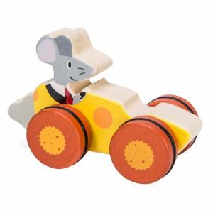 Le Toy Van Petilou Woodland Race 'Muis'