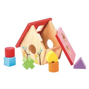 Le Toy Van Petilou Vormensorteerder 'Little Bird House'