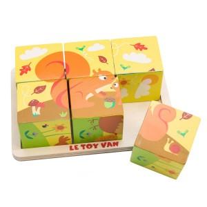 Le Toy Van Petilou Puzzel 'All Seasons'