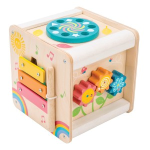 Le Toy Van Petilou Activiteitenkubus 'Petit'