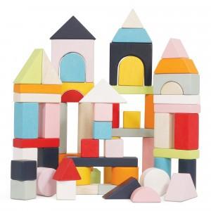 Le Toy Van Petilou Bouwblokken & opbergzak (60 stuks)