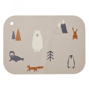 Liewood Silicone Placemat Arctic Mix