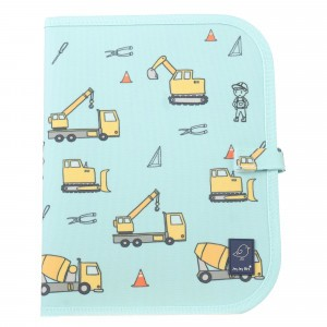 Jaq Jaq Bird Teken- en Placemat 'Construction'