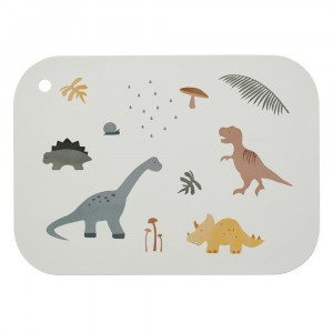 Liewood Silicone Placemat Dino Mix