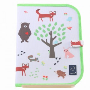Jaq Jaq Bird Teken- en Placemat 'Forest'