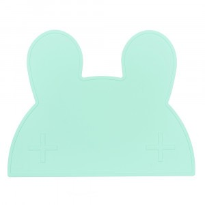 We Might Be Tiny Placemat Konijn - Minty Green