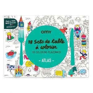 OMY Kleur Placemats - Atlas