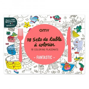 OMY Kleur Placemats - Fantastic
