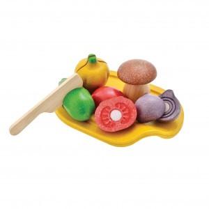 PlanToys Keuken Groenten Assortiment