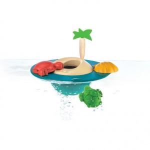 PlanToys Badspeelgoed Drijvend Eiland