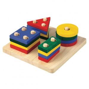 PlanToys Geometrisch Sorteerbord