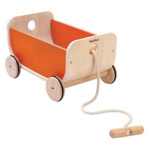 PlanToys Karretje Oranje