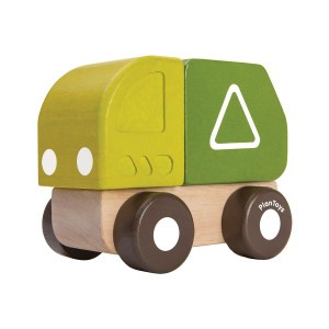 PlanToys Mini Vuilniswagen