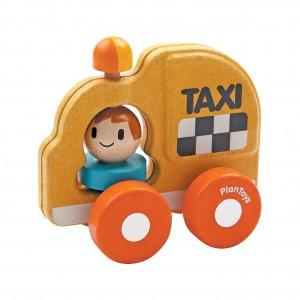 PlanToys Grijpvoertuig Taxi