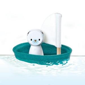PlanToys Badspeelgoed Zeilboot Ijsbeer