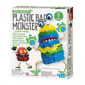 Kidzlabs Bouwpakket Plastic zakken monster