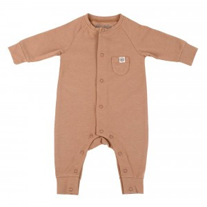 Cloby Playsuit Coconut Brown