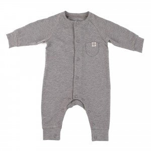 Cloby Playsuit Stone Grey
