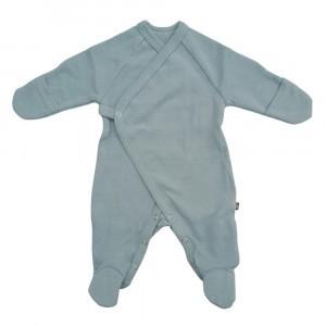 Forgaminnt Amber Yarn Pyjama met voetjes (0-3m) Abyss