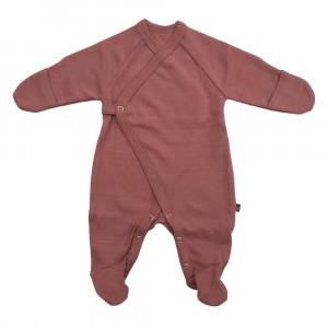 Forgaminnt Amber Yarn Pyjama met voetjes (0-3m) Ash Rose