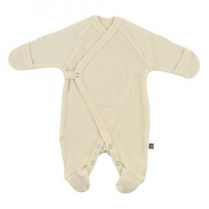 Forgaminnt Amber Yarn Pyjama met voetjes (0-3m) Milk Clouds