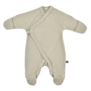 Forgaminnt Amber Yarn Pyjama met voetjes (0-3m) Sage