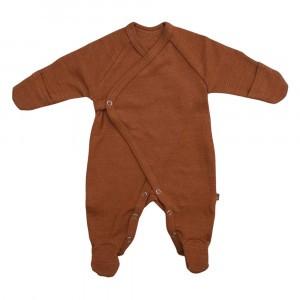 Forgaminnt Amber Yarn Pyjama met voetjes (0-3m) Sugar Almond