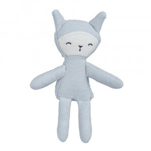Fabelab Pocket Friend Bunny Foggy Blue