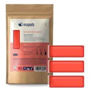 Ecopods Capsule Sanireiniger 3 stuks (15gr)