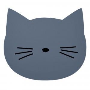 Liewood Silicone Placemat Kat Blauw