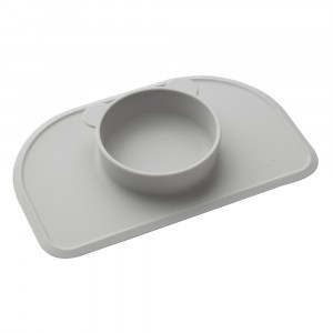 Liewood Silicone Placemat Polly Dumbo Grijs